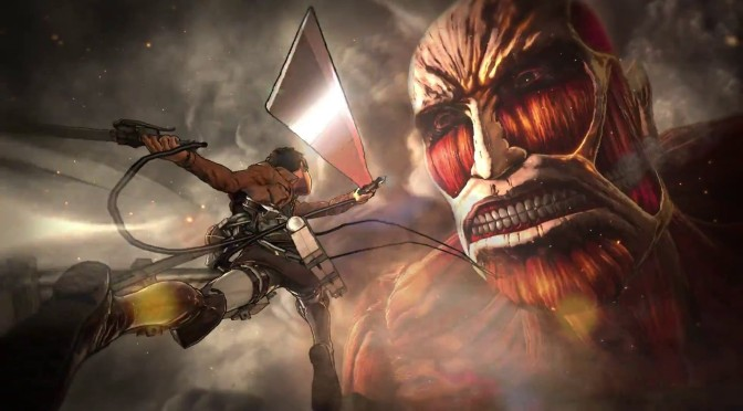 Attack on Titan Arrives in Japan on PS4, PS3, and Vita February 2016
