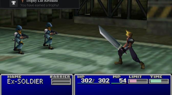 THE FINAL FANTASY VII PS4 TROPHIES HAVE BEEN REVEALED