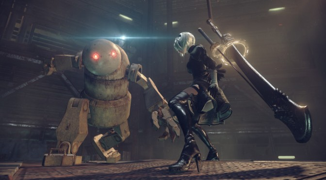 Meet Earth's Android Savior in NieR: Automata Gameplay Trailer