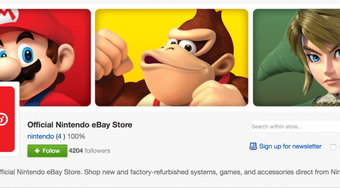 Nintendo Launches Official eBay Store
