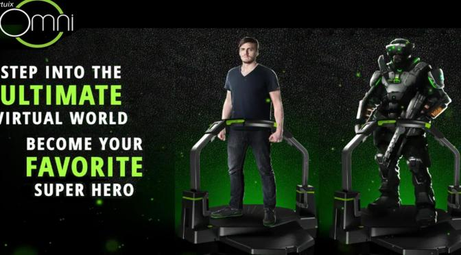 THE VIRTUIX OMNI WILL LET YOU STROLL ACROSS THE COMMONWEALTH FOR REAL!