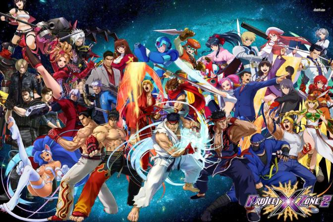 NEW TRAILER FOR PROJECT X ZONE 2 DROPS