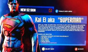 superman leaked screenshot