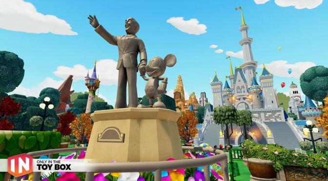 DISNEY INFINITY LAUNCHES WALT DISNEY WORLD TOY BOX PROJECT