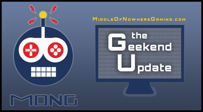 First Geekend Update of 2016!