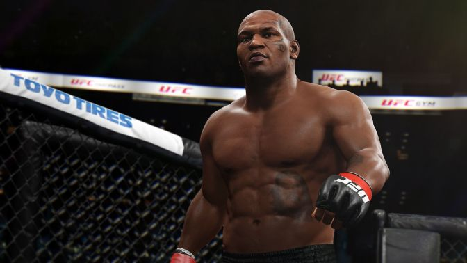 Mike Tyson Enters Octagon for EA Sports UFC 2