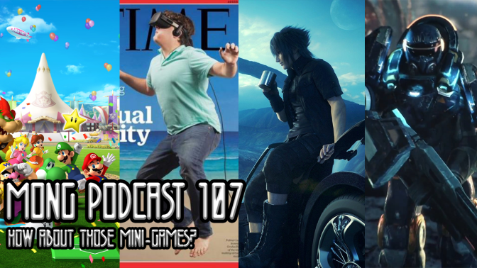 MONG Podcast 107 | How About Them Mini-Games?