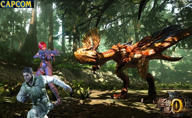 MONSTER HUNTER PRODUCER TAKES AIM AT RESIDENT EVIL, DINO CRISIS