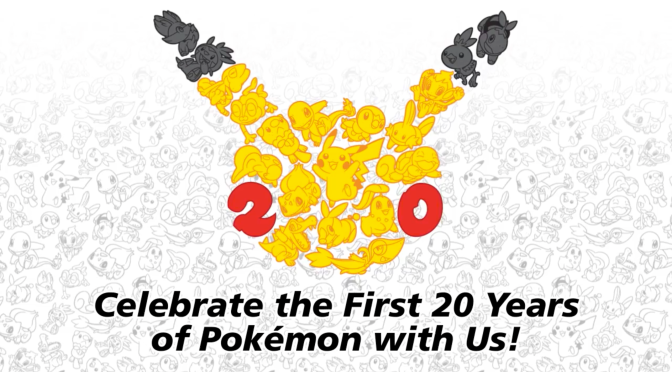 Pokémon Readys for a 20th Birthday