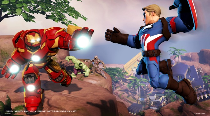 REVIEW – DISNEY INFINITY 3.0: MARVEL BATTLEGROUNDS PLAY SET
