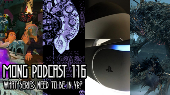 MONG Podcast 116 | What Series Need to be in VR?