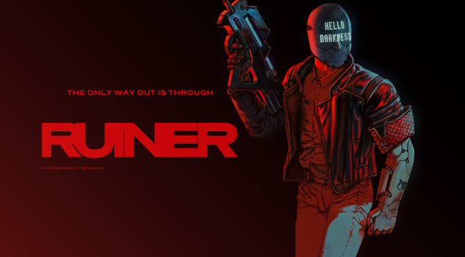 Witness Cyberpunk Mayhem in Ruiner Announcement Trailer