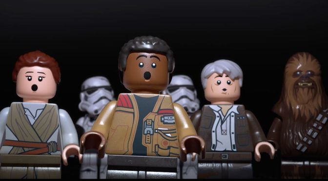 Finn Featured in new LEGO Star Wars the Force Awakens Video