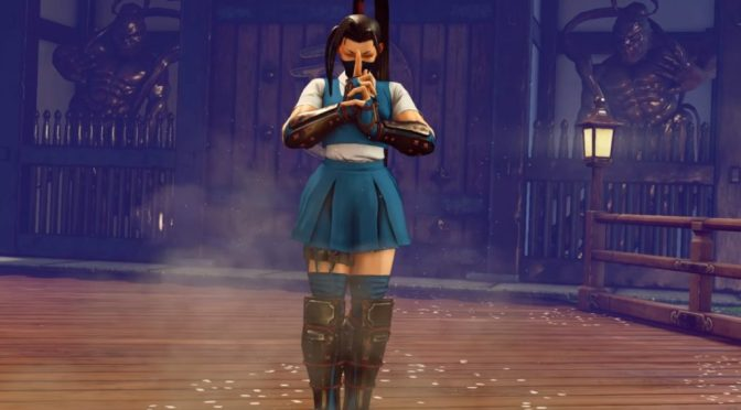Go Ninja Go- Street Fighter V Welcomes Ibuki in Reveal Trailer