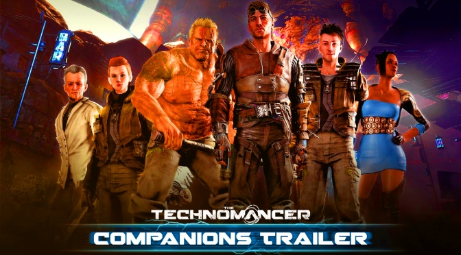 "THE TECHNOMANCER ""COMPANIONS"" TRAILER REVEALS ROMANCE, DESERTION"