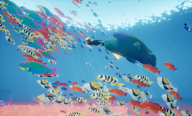 Dive Into an Underwater World in Abzu  E3 Trailer