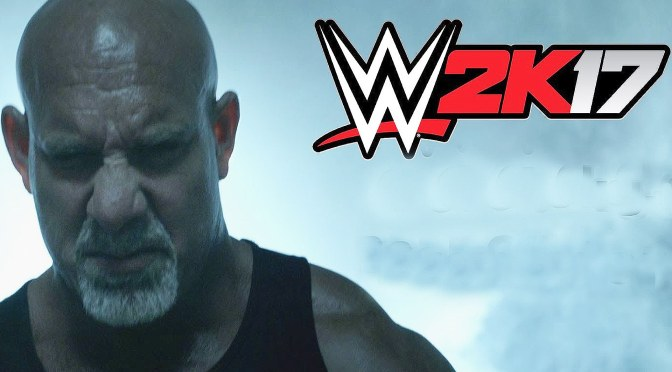 Goldberg Announced as WWE 2K17 Pre-Order Bonus