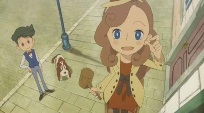 Level-5 announce Lady Layton — coming Spring 2017