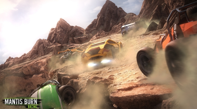 Top-Down Racer Mantis Burn Racing announced
