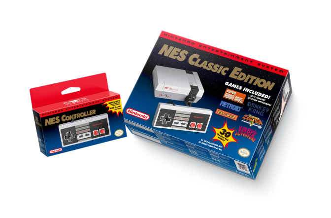 Nintendo confirms NES Classic Edition has several display modes, instant saves