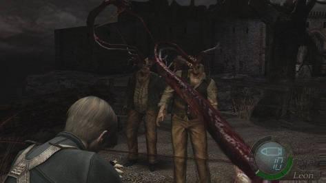 Resident Evil 4 Attack
