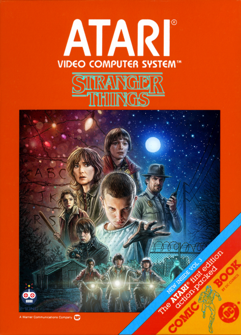 stranger things atari blue