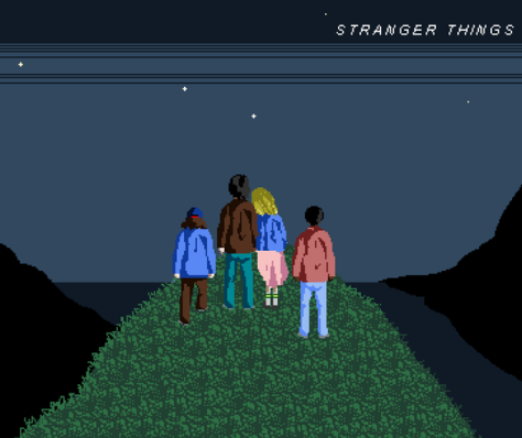 stranger things pixel art super_famicom reddit