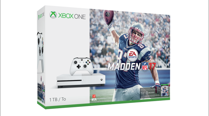 1TB and 500GB Xbox One S models get release dates