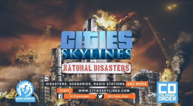 Cities Skylines: Natural Disasters expansion announced