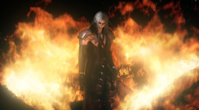 This Final Fantasy VII Action Figure Ain't No Angel