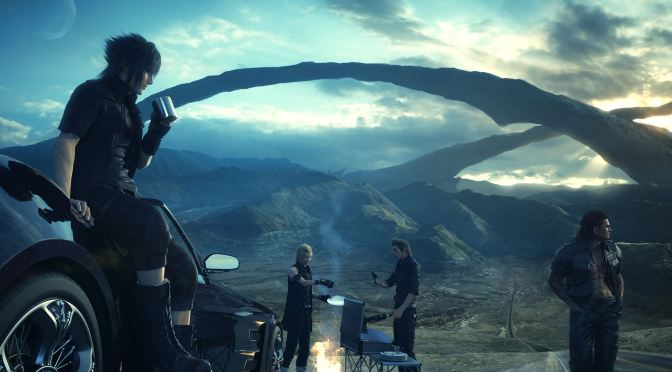 Final Fantasy XV is open world for the first half, linear in the second half