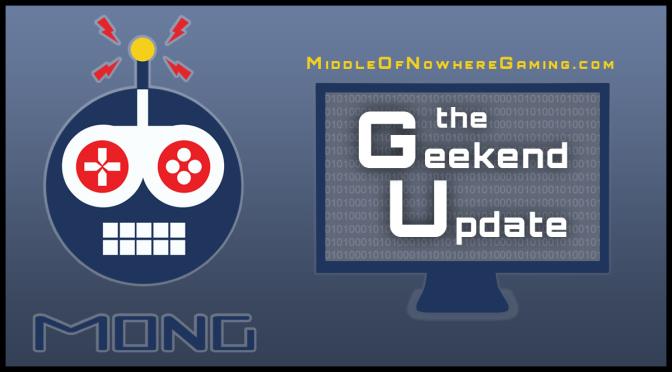 Geekend Update 08/26/16