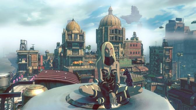 Gravity Rush 2 reveals vast world map, Phantasy Star Online 2 collaboration