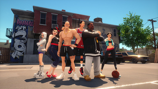 3on3 Freestyle is set to bring street basketball to PS4 later this year