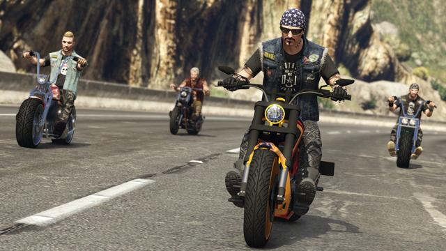 GTA Online: Bikers is arriving October 4th