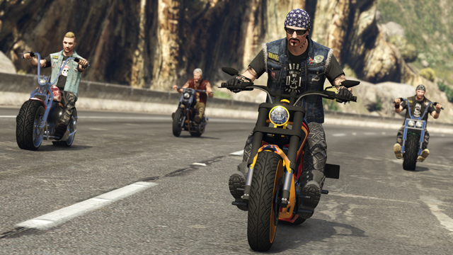 GTA Online: Bikers is arriving October 4th