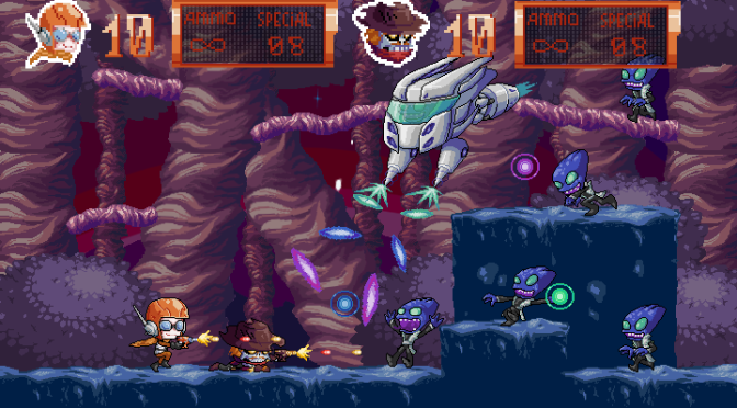 Baron Galaxy Arrives on Steam Greenlight With Alien Smashing Trailer