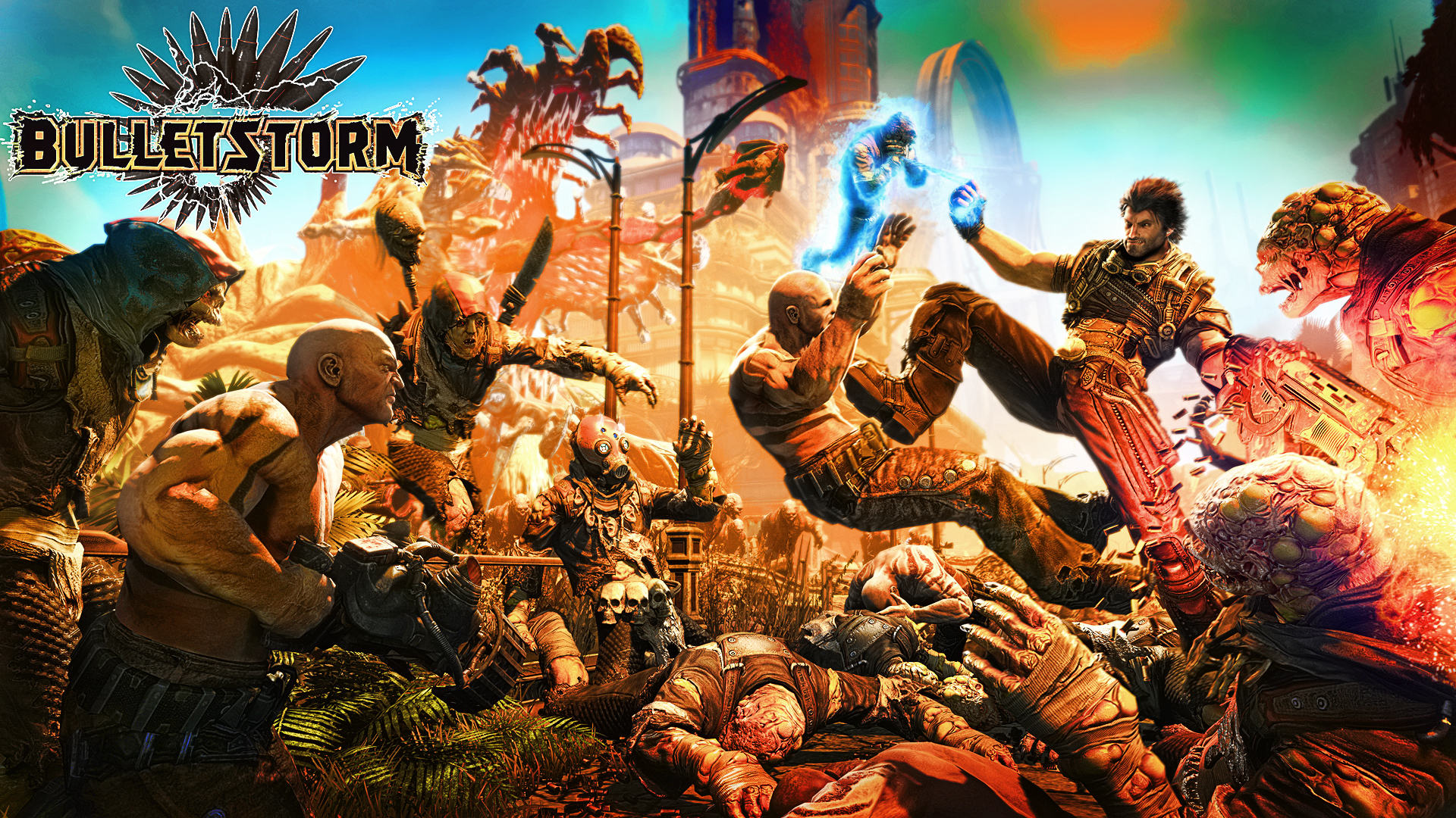 Bulletstorm Full Clip Edition Rated For Xbox One Ps4 And Pc Middle Of Nowhere Gaming