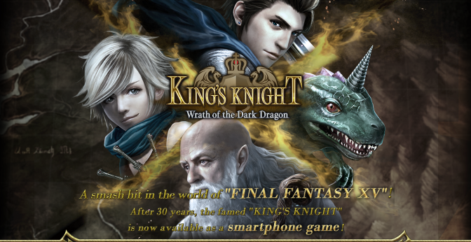 New King's Knight Mobile RPG Announced