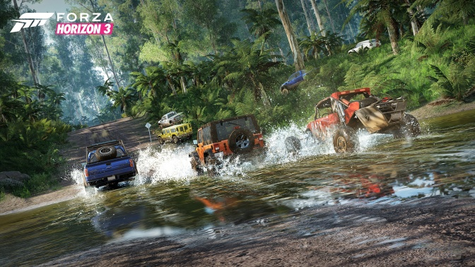 Forza Horizon 3 Launch Trailer Showcases Thrill of Driving