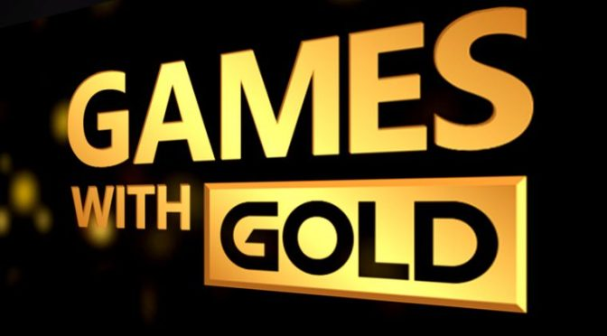 Xbox Games with Gold for October announced
