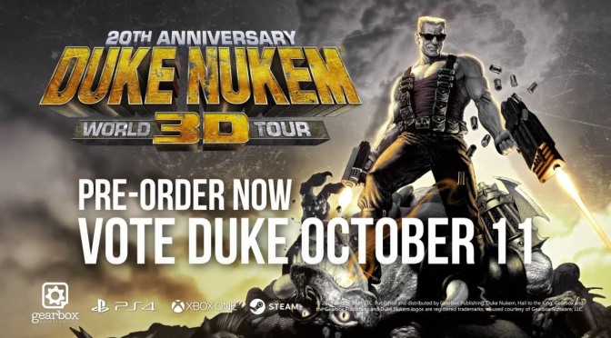 Duke Nukem 3D: 20th Anniversary World Tour announced