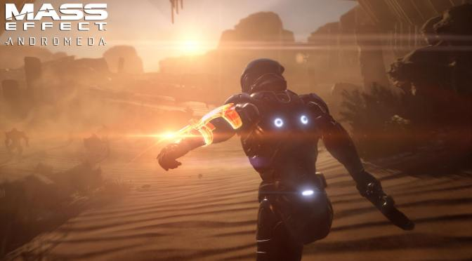 Is Mass Effect Andromeda's producer teasing a reveal at PlayStation Meeting today?