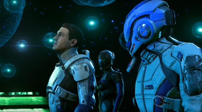 Mass Effect: Andromeda protagonists are siblings, both exist in-game