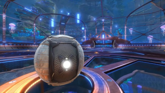 Rocket League going underwater in free AquaDome update