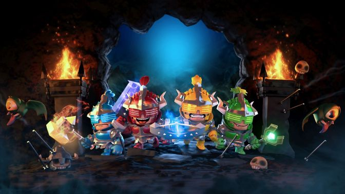 Super Dungeon Bros launches November 1st for PS4, Xbox One & PC