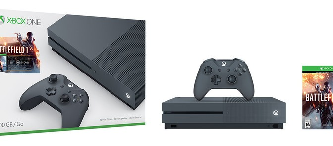 Xbox One S 'Storm Grey' & 'Military Green' announced, coming later this year
