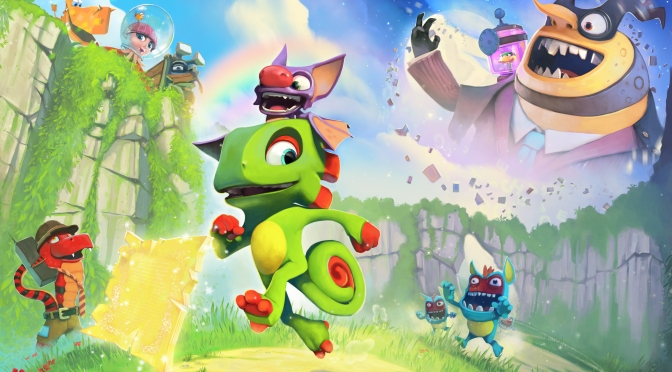 Yooka-Laylee Gets A Character Trailer