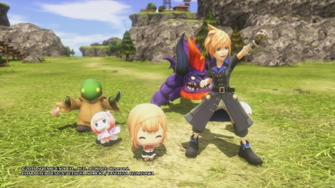 WORLD OF FINAL FANTASY Dungeon Demo_20161017165212