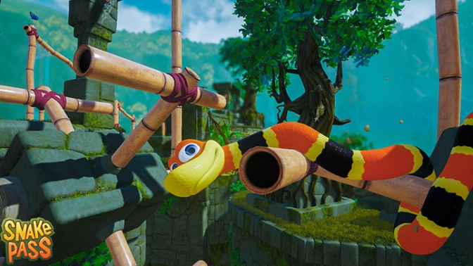 Snake Pass Heads to PlayStation Experience, PS4 Early Next Year